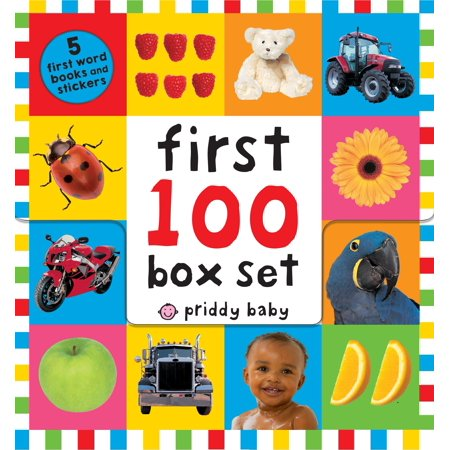First 100 PB Box Set (5 books) : First 100 Words; First 100 Animals; First 100 Trucks and Things That Go; First 100 Numbers; First 100 Colors, ABC, - Words Made Out Of The Word Halloween