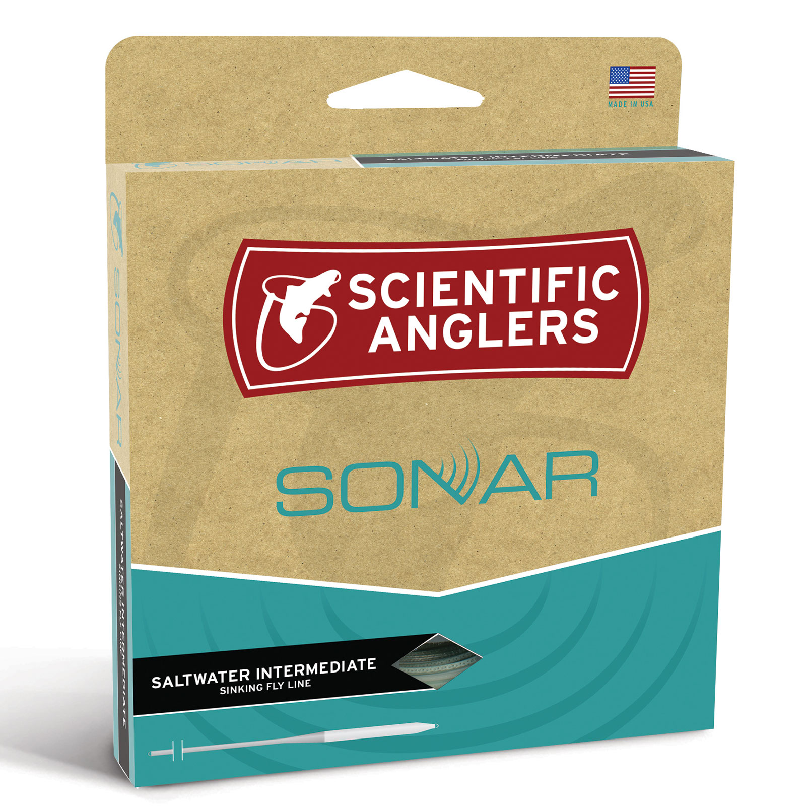 Scientific Anglers SONAR Saltwater Intermediate Weight Forward Fly Fishing Line by