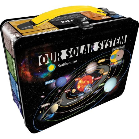 Lunch Box - Solar System - Gen 2 Metal Tin Case New Licensed - Metal Lunchbox
