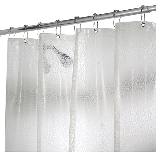 "InterDesign Rain EVA Shower Curtain Liner, 72"" x 72"""
