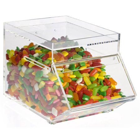 - Clear Plastic Candy Container, 6-1/8