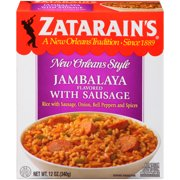 Zatarain's Frozen Jambalaya Flavored With Sausage, 12 oz