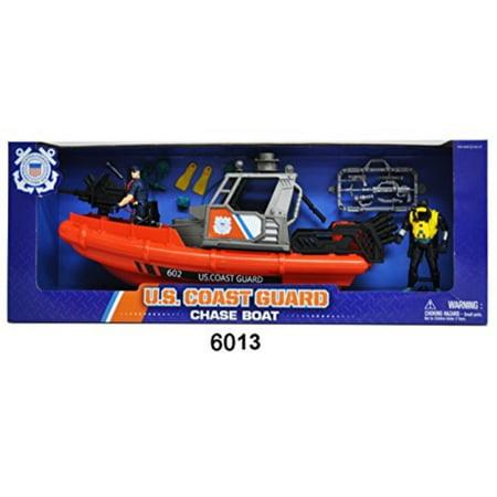 U.S. Coast Guard Rescue Boat w/ Figures (Coast Guard Rescue)