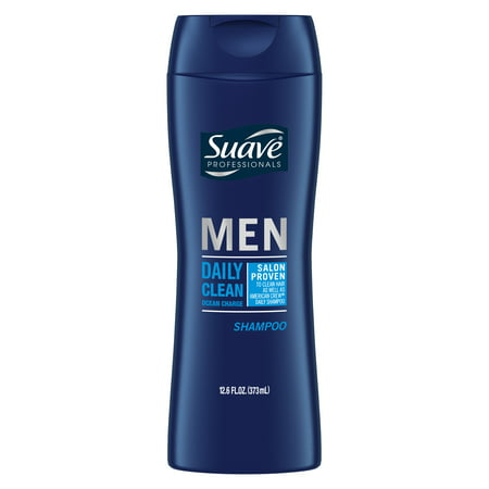 Suave Men Daily Clean Ocean Charge Shampoo, 12.6 oz