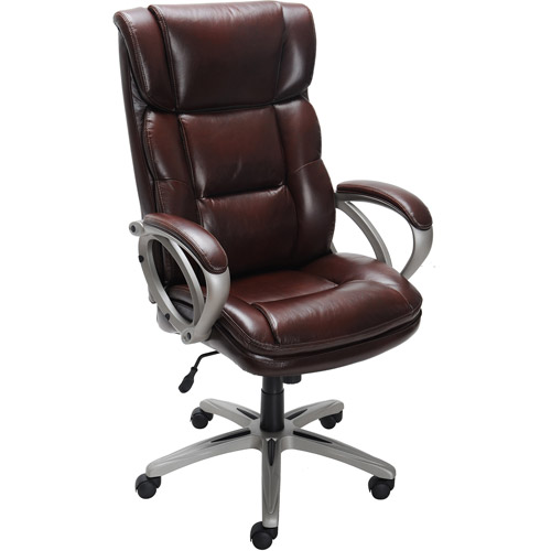 Ideal Broyhill Bonded Leather Executive Chair