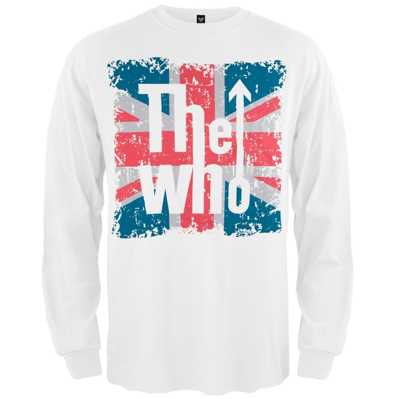 The Who - Flag Logo Long Sleeve T-Shirt