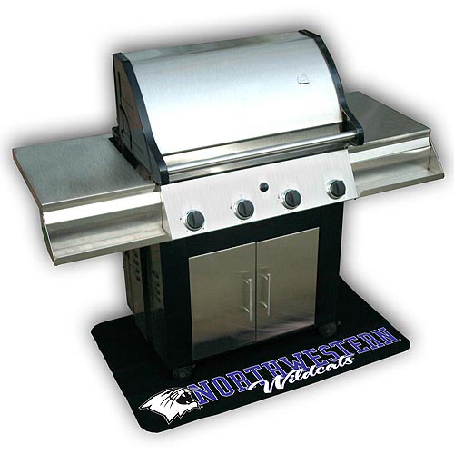 Mr. Bar-B-Q NCAA Protective Grill Mat, Northwestern University Wildcats