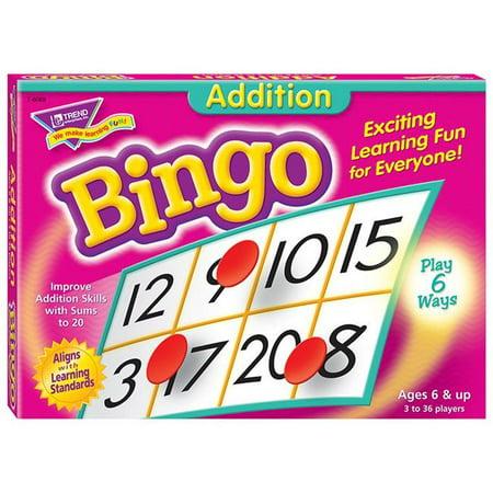Trend Enterprises T-6069BN 3 jeux de bingo suppl-mentaires - 6 ans et plus - image 1 de 1