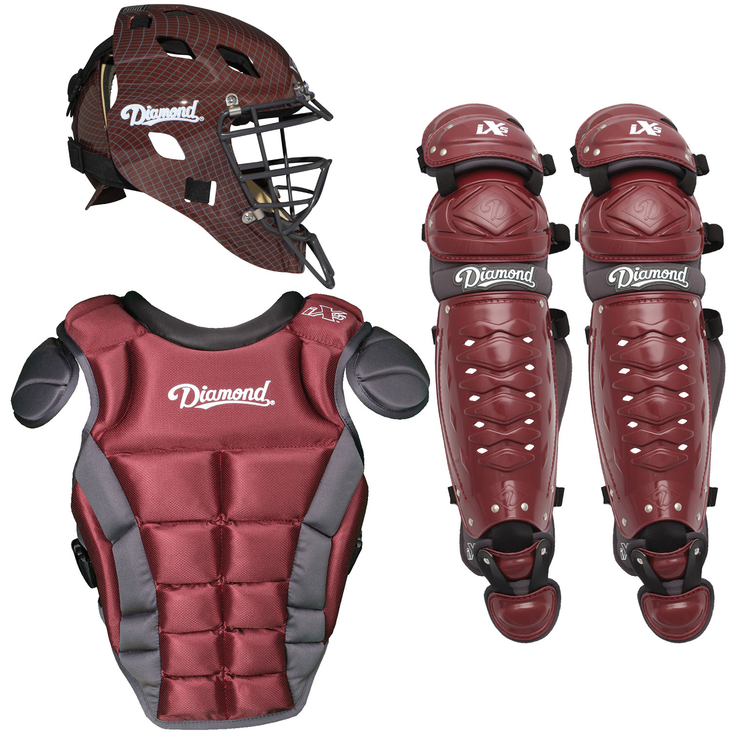 Diamond iX5 Pro Youth Baseball Catcher's Package