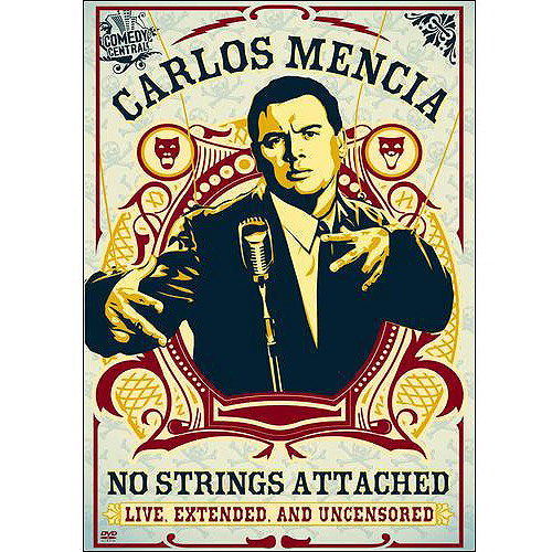 MENCIA C-NO STRINGS ATTACHED-LIVE EXTENDED & UNCENSORED(DVD)