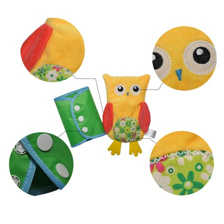 Novel Owl Plush Dress-up Toy Développement Intellectuel Early Educational Kindergarten Teaching Aid Set 4 PCS Per Set - image 8 de 9