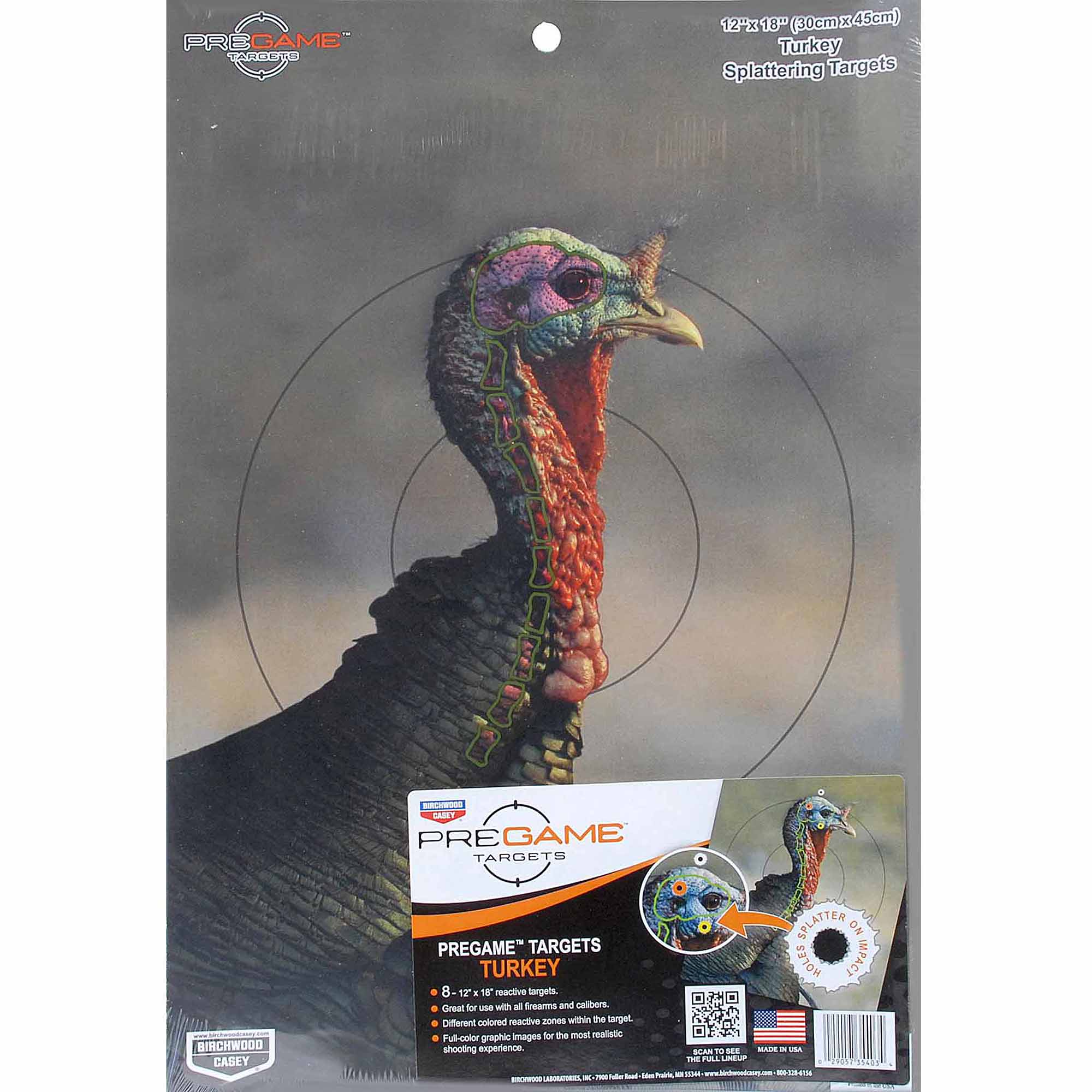PREGAME® 12˝ x 18˝ Turkey Target - 8 targets