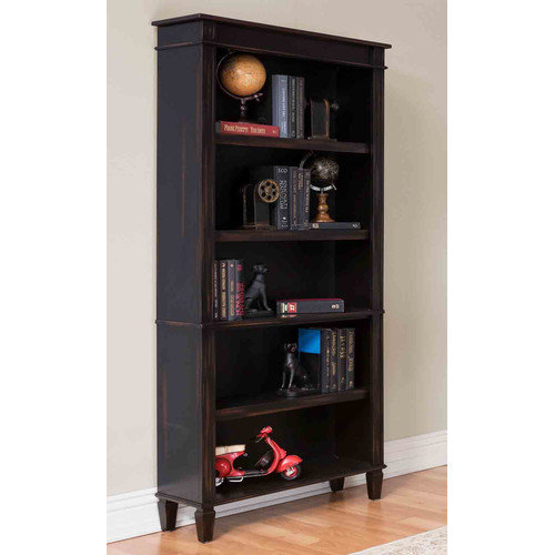 Martin Home Furnishings Eclectic Navarro 72'' Standard Bookcase