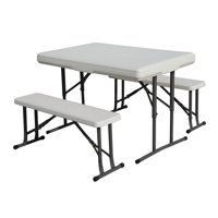 Stansport Heavy-Duty Picnic Table and Bench Set
