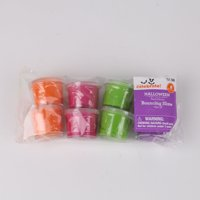 Way To Celebrate Halloween Bouncing Slime Set, 8 Pieces