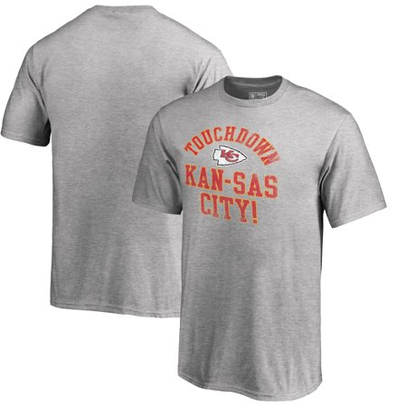 pretty nice bf894 cfbae Kansas City Chiefs NFL Pro Line by Fanatics Branded Youth Hometown  Collection TD-KC T-Shirt - Heather Gray