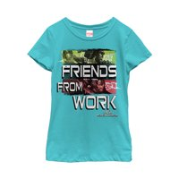 Marvel Girls' Thor: Ragnarok Friend From Work T-Shirt