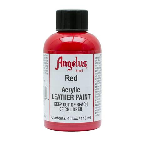 Angelus® Acrylic Leather Paint, 4 oz., Red ()