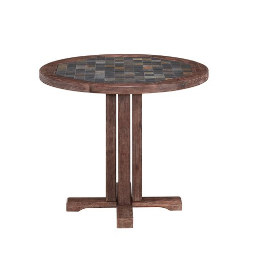 Home Styles Morocco Round Dining Table by Home Styles