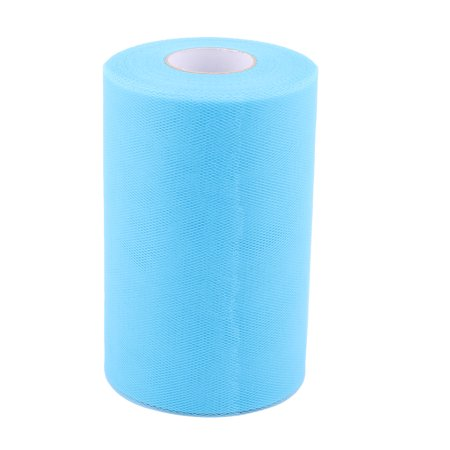 Home Dress Tutu Gift Decor Craft Tulle Spool Roll Sky Blue 6 Inch x 100 Yards - image 5 of 5