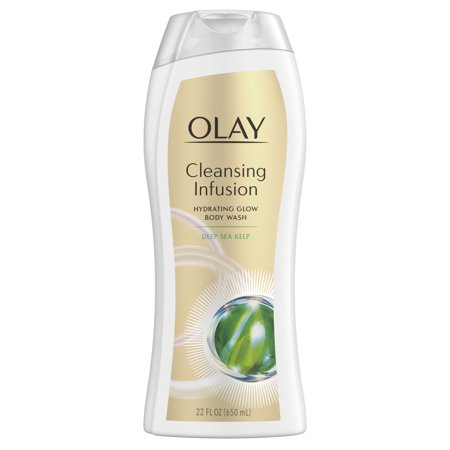 Invigorating Body Cleansing Gel (Olay Cleansing Infusion Hydrating Body Wash with Deep Sea Kelp, 22 oz )