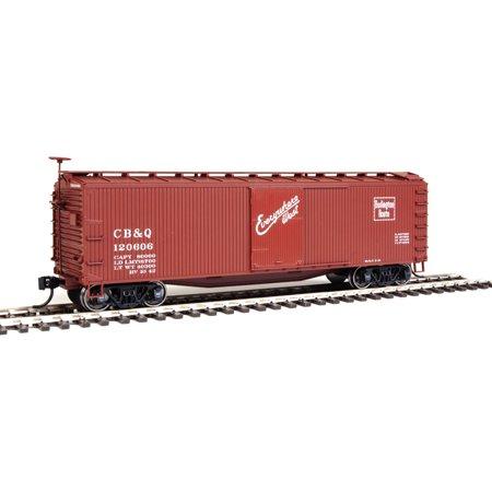 Walthers HO Scale 40' USRA Wood Boxcar Chicago, Burlington & Quincy/CB&Q #120606