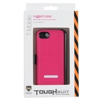 New OEM Body Glove Tough Suit Raspberry/White Case For iPhone