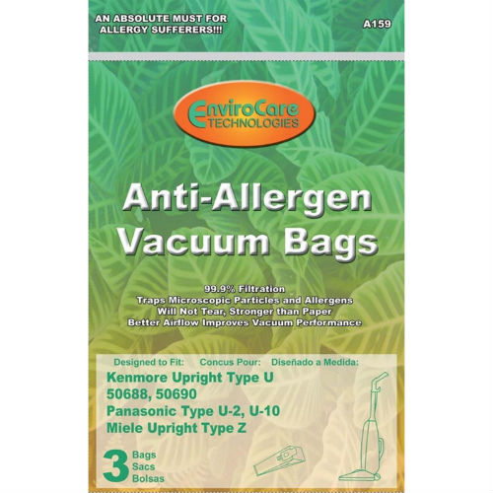 EnviroCare Type O Vacuum Bag f// Kenmore 53293