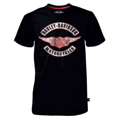 Men's Black Label Genuine Wings B&S T-Shirt, Black 30291521