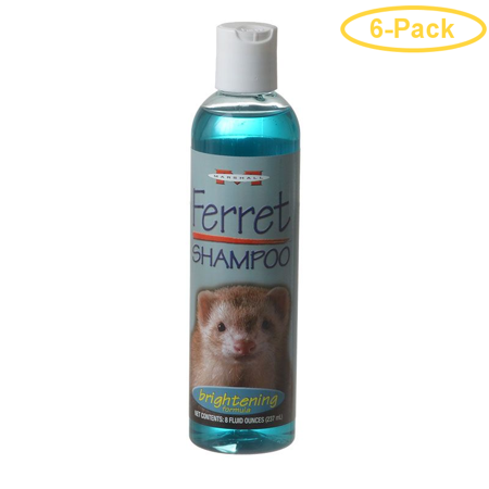 Marshall Ferret Shampoo - Brightening Formula 8 oz - Pack of 6