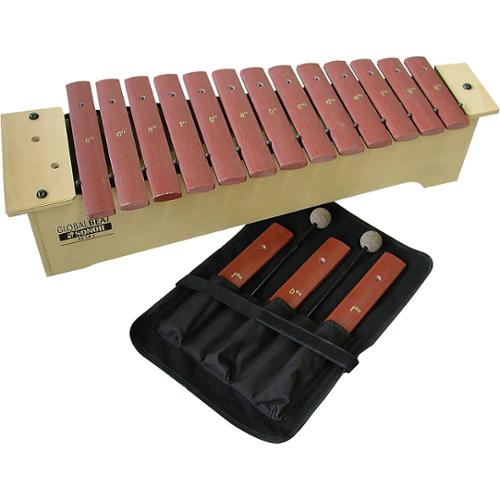 Global Beat Soprano Xylophone with Fiberglass Bars by Sonor