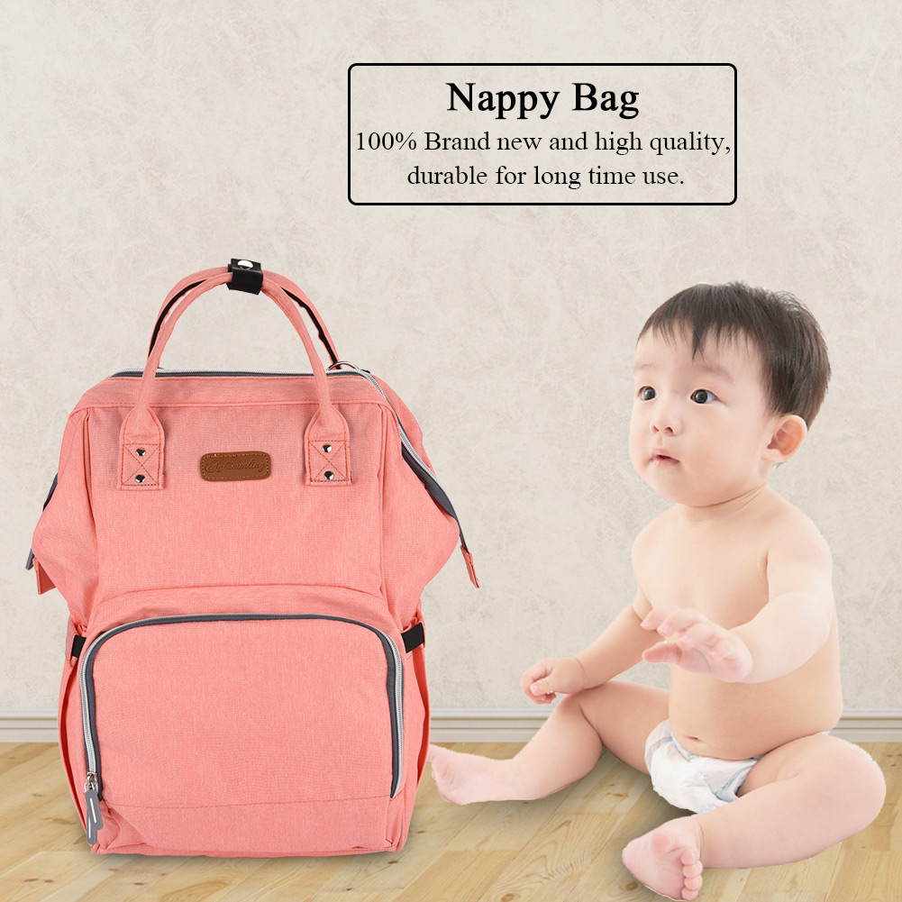 Baby Bag,YMIKO Multifunctional Large Mummy Backpack with USB Charging Port Diaper Nappy Bag Handbag, Waterproof USB Diaper Backpack, Waterproof Diaper Bag