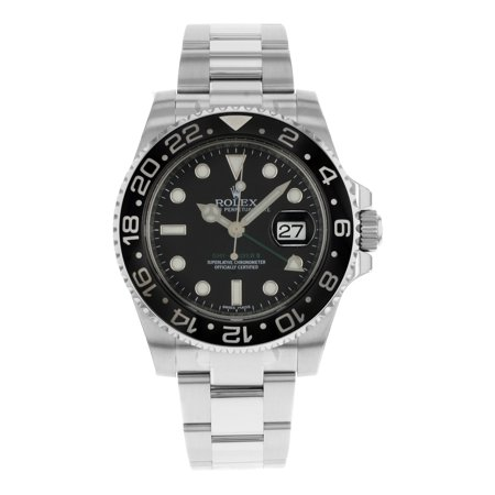 Rolex GMT-Master II 116710LN Black on Black Stainless Steel Automatic Mens Watch