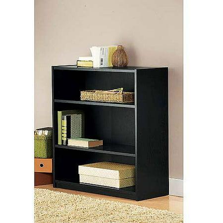 Mainstays 3 Shelf Bookcase Multiple Finishes