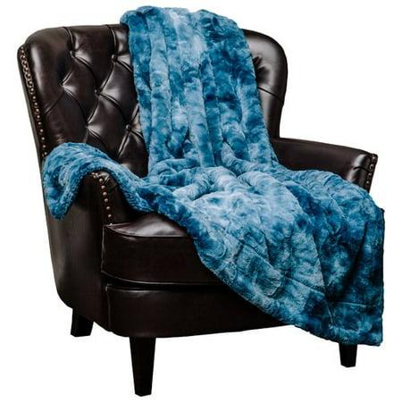Cedar Run Throw (Latitude Run Trio Super Soft Fuzzy Faux Fur Throw Blanket)