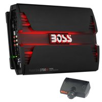 New Boss PV3700 3700W 5 Channel Car Audio Amplifier Power LED Amp with Remote