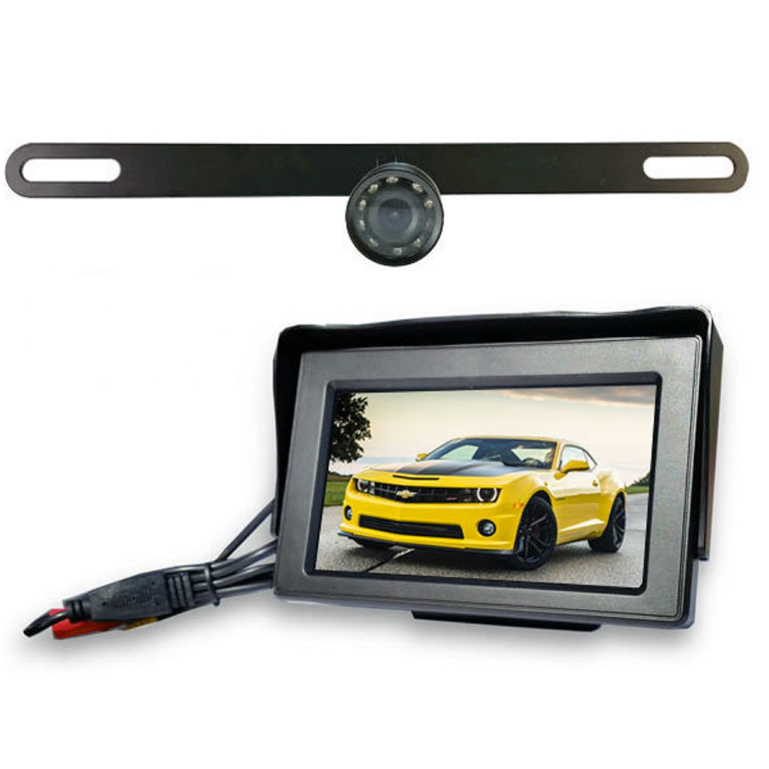 Top Dawg Wireless License Plate Backup Wide Angel HD Camera SKU: MS435