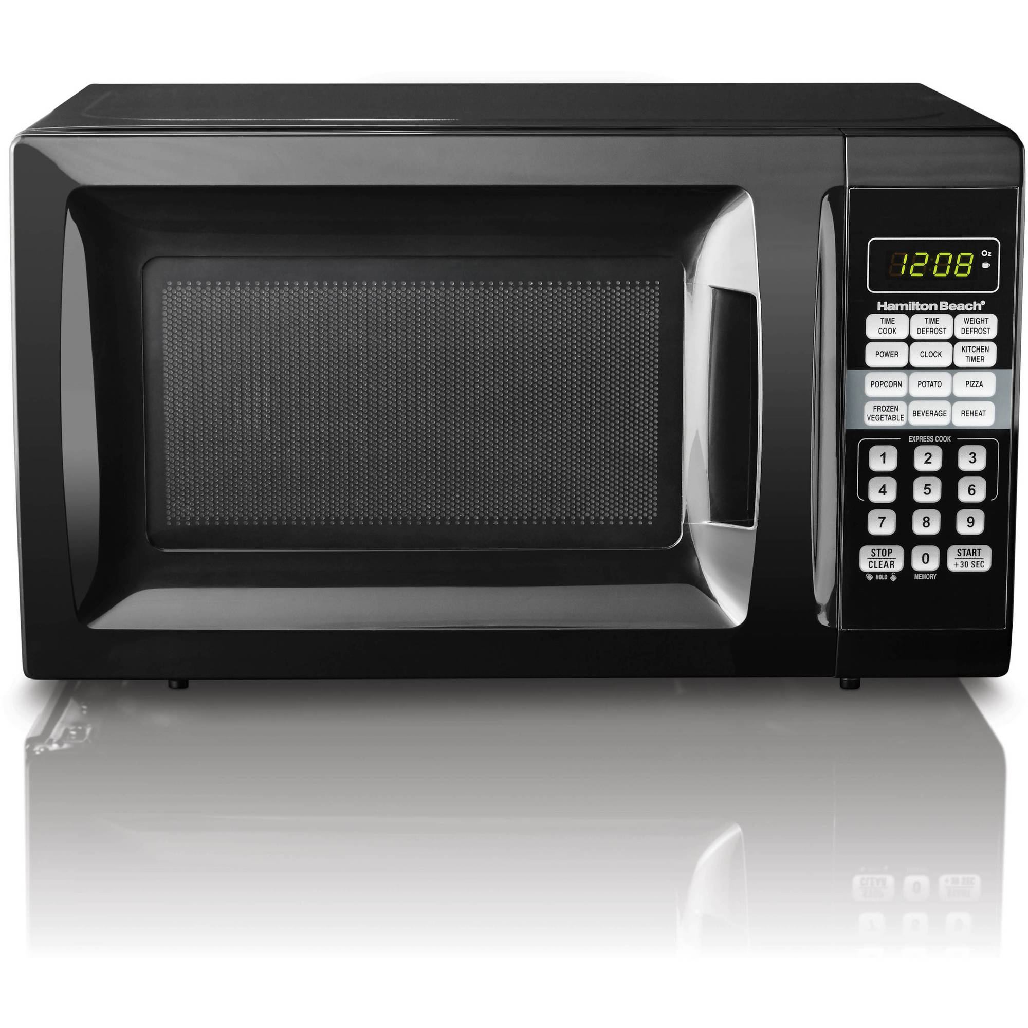 Hamilton Beach 0.7 cu ft Microwave Oven Kitchen Countertop Cooking ...