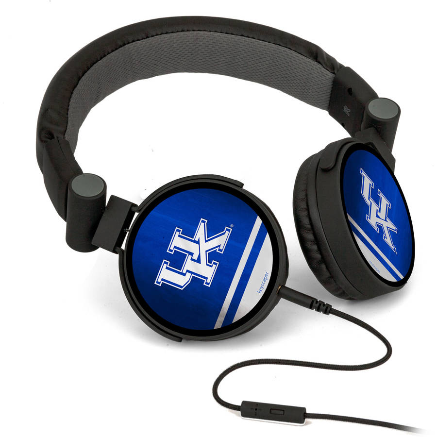 Kentucky Wildcats DJ-Style Headphones