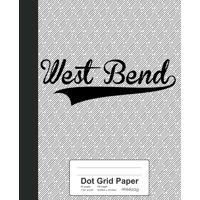 Dot Grid Paper : WEST BEND Notebook
