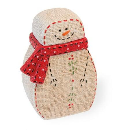 Comfort Jar (The Holiday Aisle Fernon Comfort Snowman Cookie)