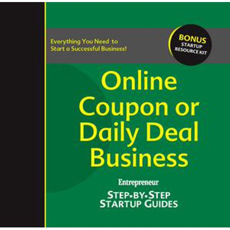 Online Coupon or Daily Deal Business - eBook - Academy Online Coupons