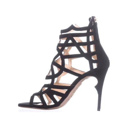 Jerome C. Rousseau Greco Strappy Sandals, Black - image 3 of 6