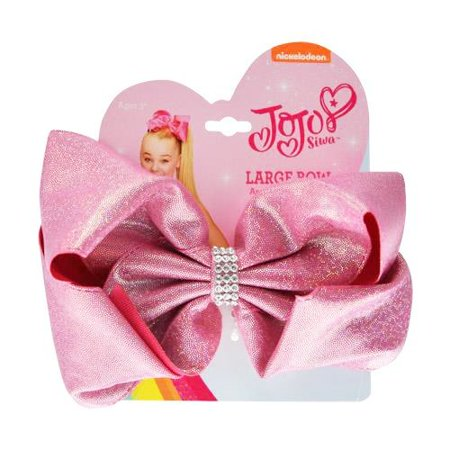 JoJo Siwa Girls Hair Accessory Large Bow - Many Colors - Neon Pink Hair Bow