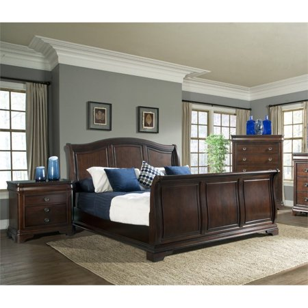 Picket House Furnishings Conley 3 Piece Queen Sleigh Bedroom Set