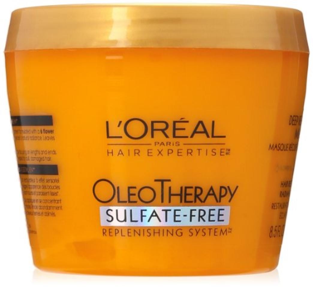 L'Oreal Paris OleoTherapy Deep Recovery Hair Mask, 8.5 fl oz