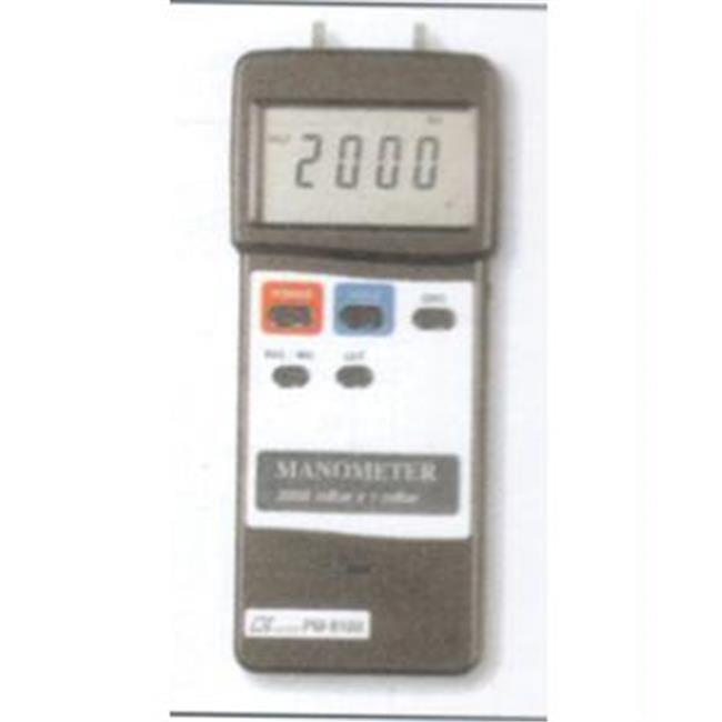 General Tools Heavy Duty Manometer, 2000 Mbar White Body ...
