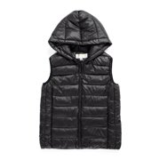 SAYFUT Women's Lightweight Water-Resistant Packable Down Vest Jacket for Spring/Autumn Outdoor Puffer Vest