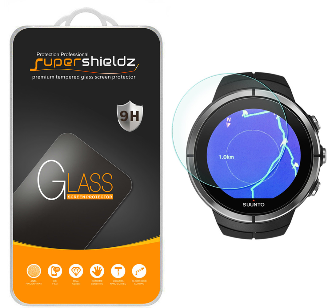 [1-Pack] Supershieldz for Suunto Spartan Ultra HR Sport Sport HR Sport Wrist HR Baro Tempered Glass Screen Protector,... by