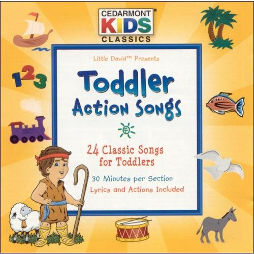 Toddler Action Songs (2CD)